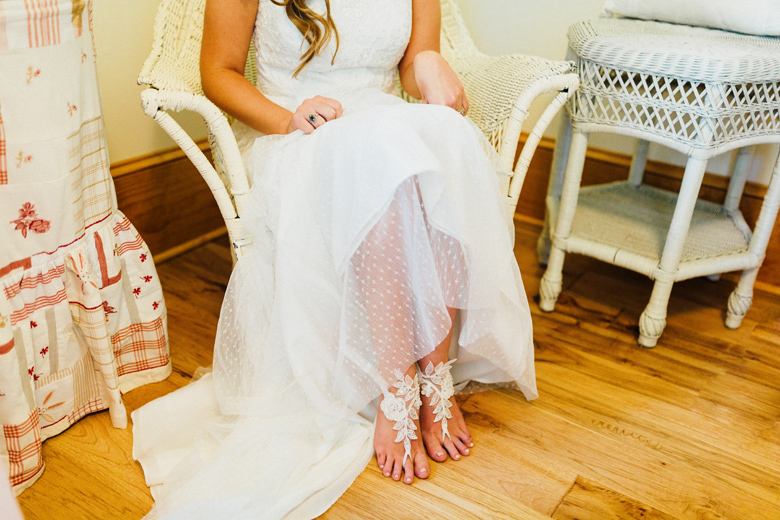 sugarland wedding barefoot sandals