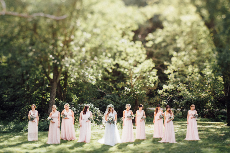 sugarland wedding bridesmaids