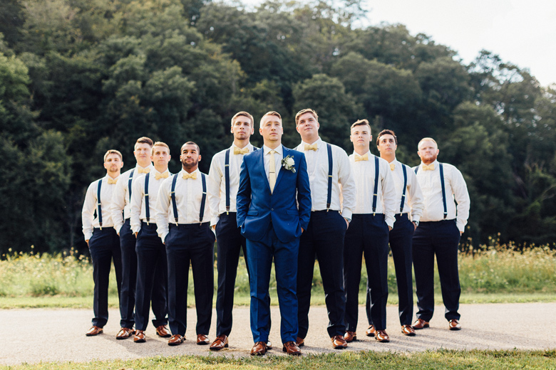 sugarland wedding groomsmen