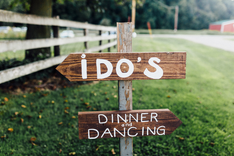 sugarland wedding wooden sign