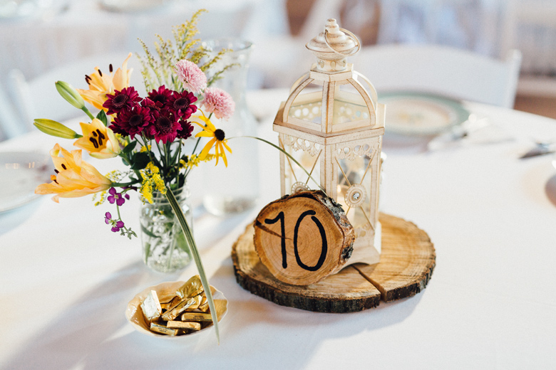 sugarland wedding centerpieces