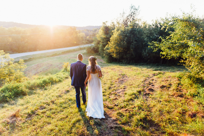 sugarland wedding sunset hiking portrait