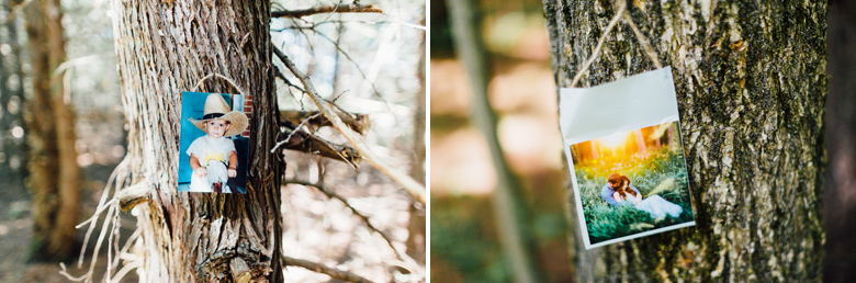 forest wedding details