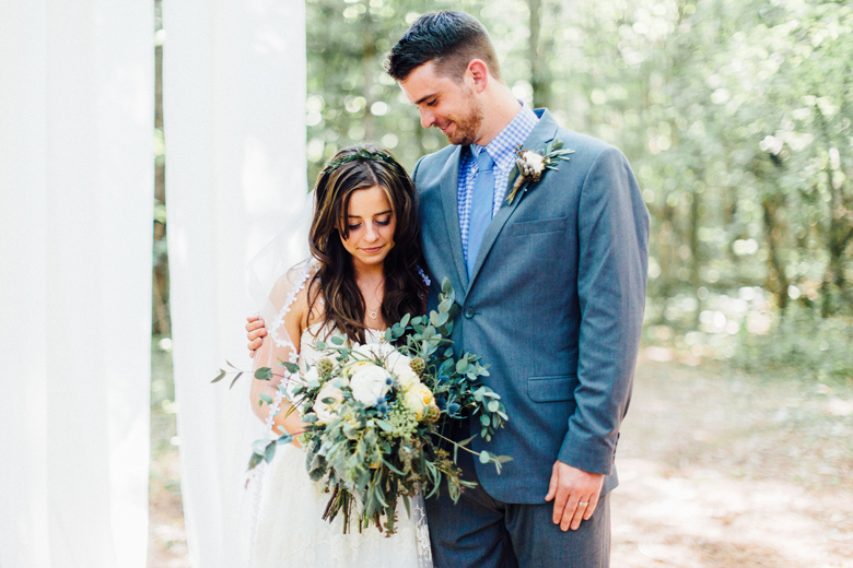 Sunny Canadian Forest Wedding - Cling & Peck