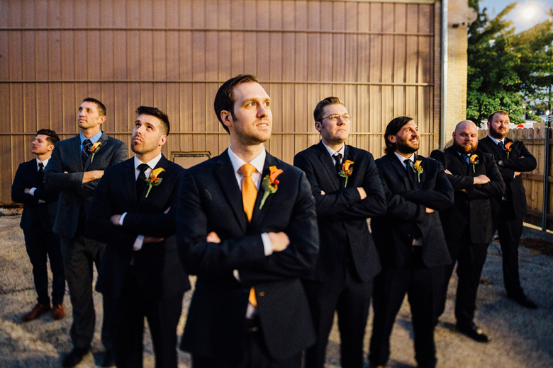 The Haight Wedding Bridal Party
