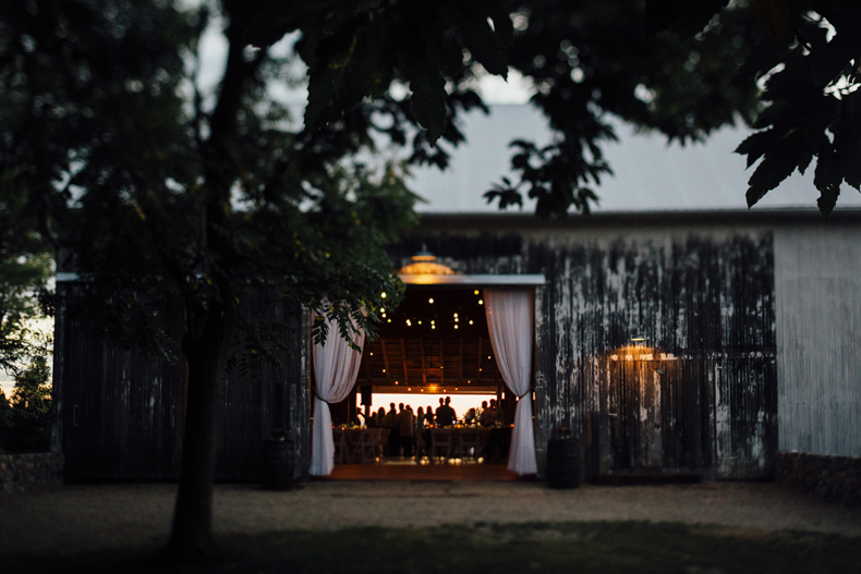 hidden vineyard wedding reception