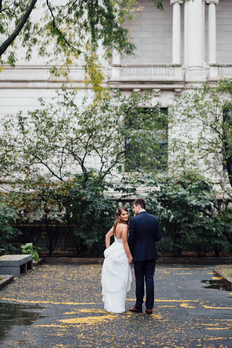 brique chicago wedding portraits