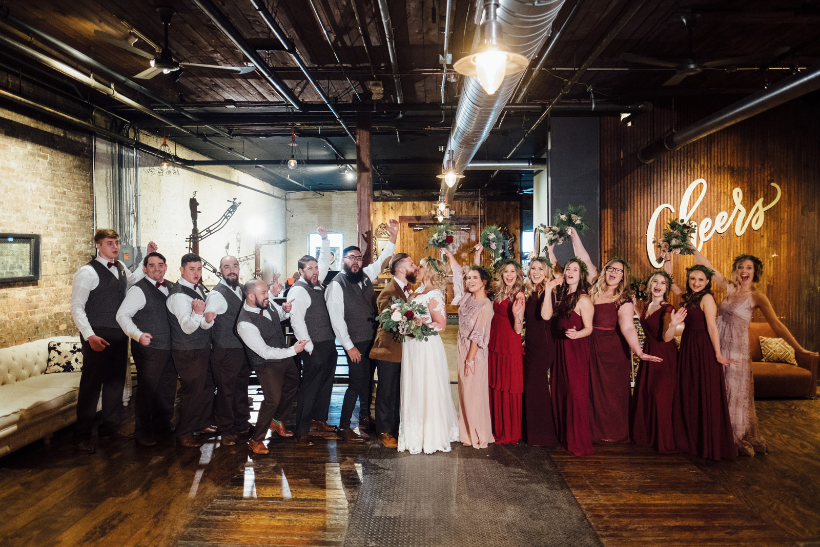The Haight Wedding Bride Groom Portraits